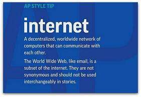 AP Lowercase Internet Web