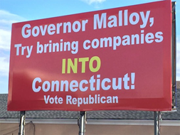 Governor Malloy, try brining companies into Connecticut.