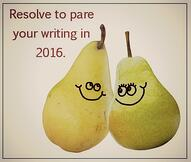 pare your writing in 2016