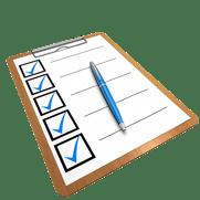 writng checklist