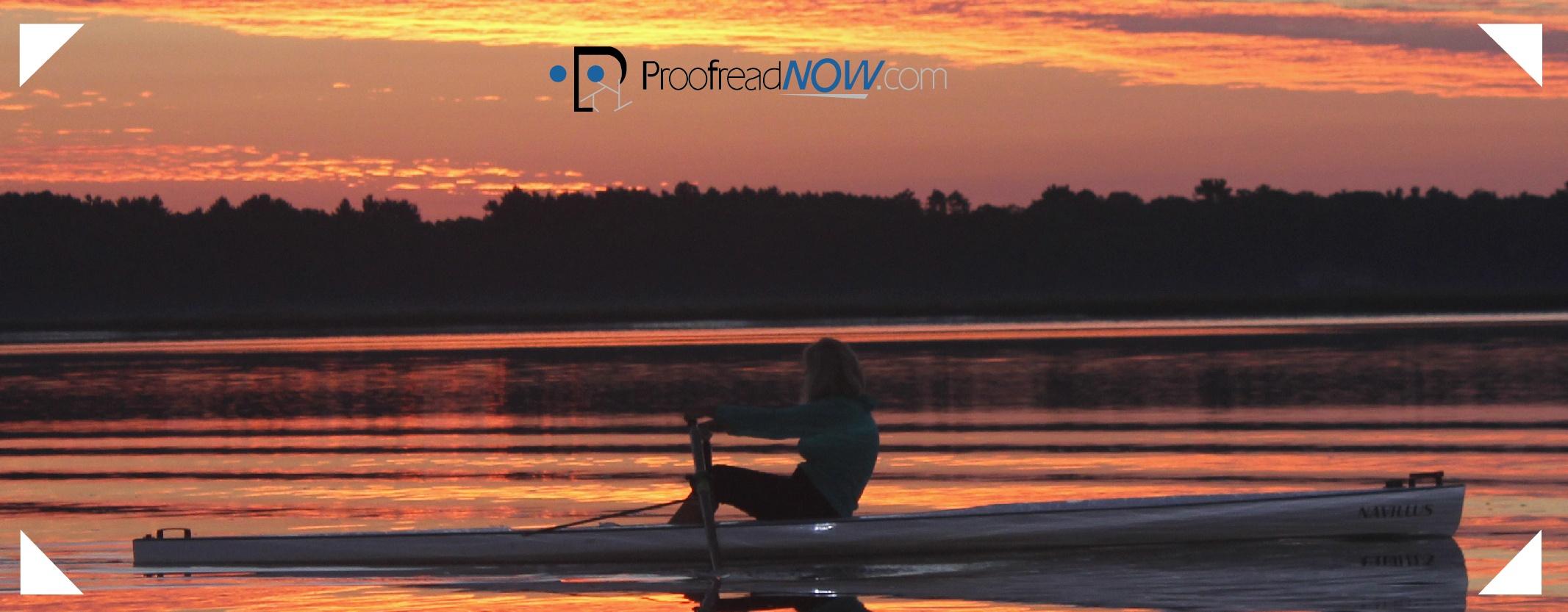 Woman rowing